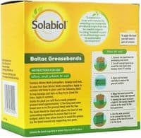 Solabiol Boltac Greasebands, Yellow, 1.75 m